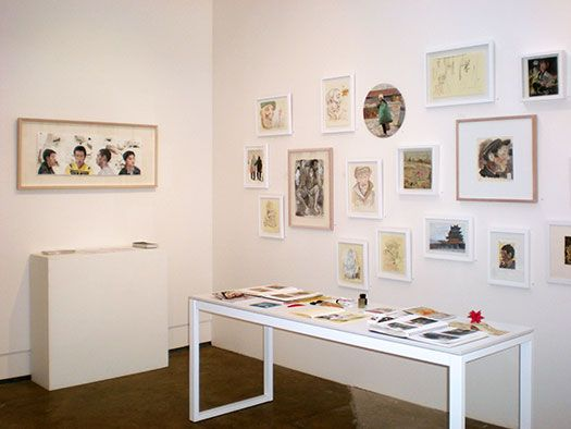 Steve Lopes 'China Studies', 22 October - 16 November 2013 at Stella Downer Fine Art, 2 Danks St, Waterloo (installation view)