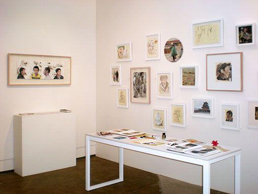 Steve Lopes 'China Studies', 22 October - 16 November 2013 at Stella Downer Fine Art, 2 Danks St, Waterloo (installation view)