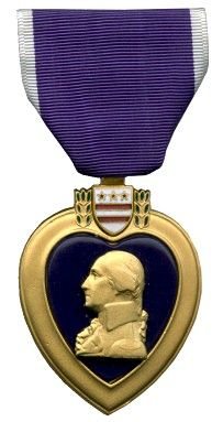 Salute to our heroes, and time to box up donations for Purple Heart to pick up.  Love to see the truck arrive at my driveway.  August 7th.  George Washington orders the creation of the Badge of Military Merit to honor soldiers wounded in battle. It is later renamed to the more poetic Purple Heart. 1782.