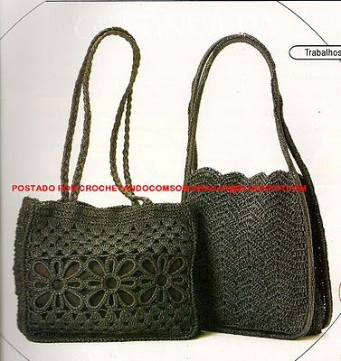 Crocheting WITH SONIA: Bags