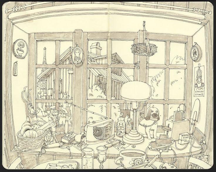 Mattias Inks: Clutter