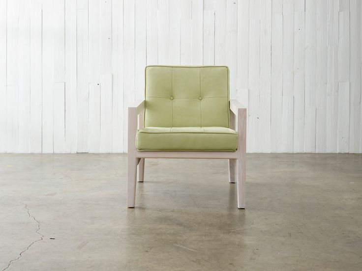 Chest Timber Armchair by Greg Natale. Available from Stylecraft.com.au