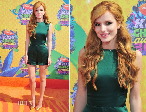 Bella Thorne In Valentino – Nickelodeon Kids' Choice Awards 2014