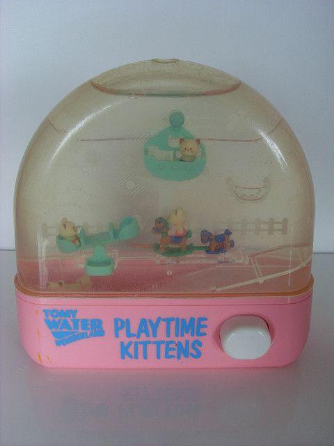 Tomy  : water Wonderland :Play time Kitty