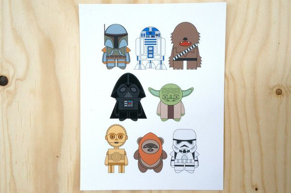 poster Star Wars by Amy Mullen
