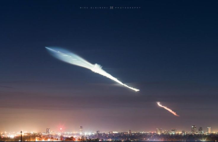 The Twilight Effect: Is That What People Saw After The SpaceX Rocket Launch?