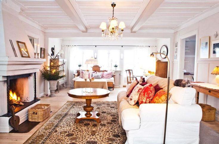En riktig drömjul i huset vid Siljan – Hus & Hem