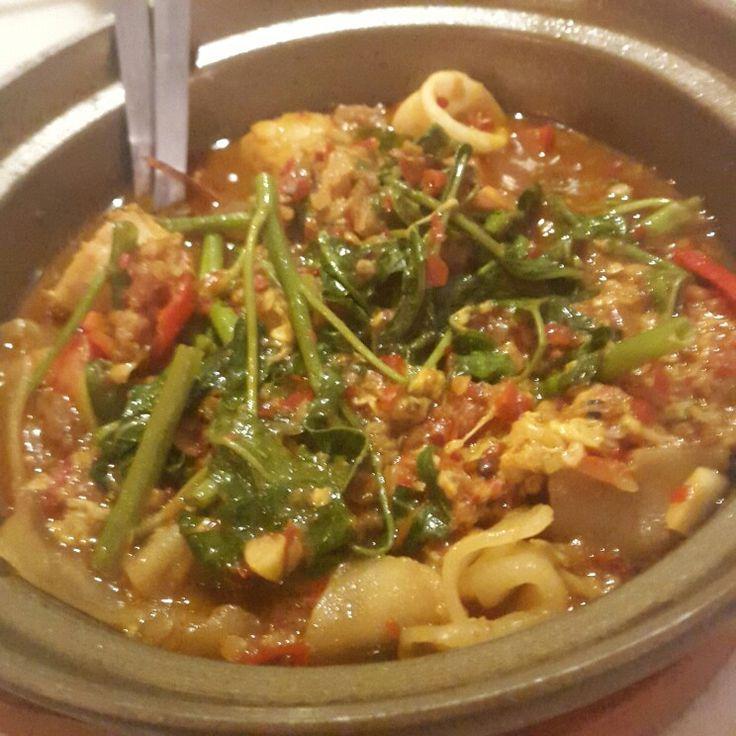 Kwetiaw kangkung terasi  #foodoftheday #maincourse #spicyfood