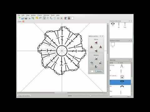 This video is a demo of the basic features of the Crochet Charts pattern design software. In 10 minutes it will take you from a blank canvas to a simple but complete stitch diagram chart.
