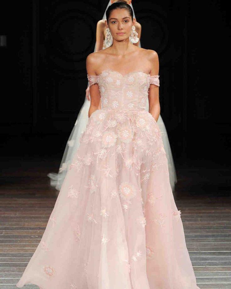 wedding dress with pockets, wedding gown pockets, pockets, Naeem Khan wedding gown