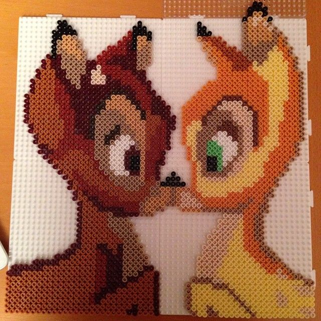 Bambi hama photopearls by frknoerhede