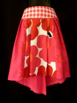 Cute skirt by Chinky Wooster a local Fremantle Designer.