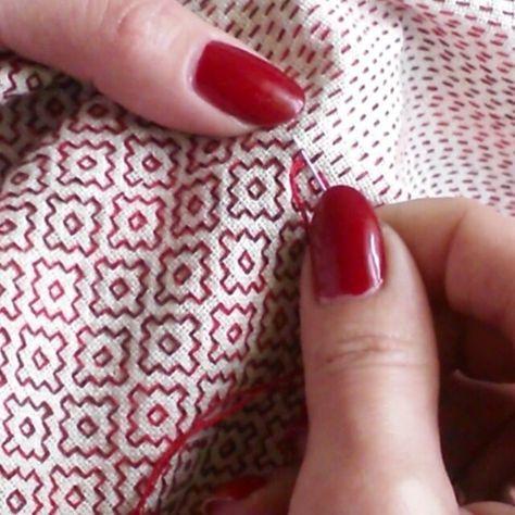 O Blog da DMC: Sashiko, bordado japonês