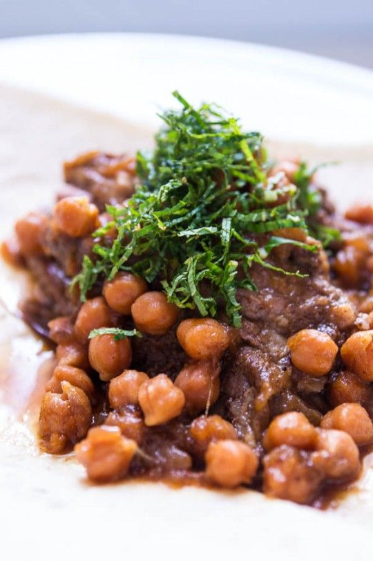 Braised Lamb with Chickpeas by No Recipes