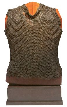 European (Spain) mail vest belonging to Gonzalo Jiménez de Quesada, Spanish conquistador who landed in Santa Marta in 1536, he ascended the Magdalena river in command of an expedition with about 900 men, some of whom died from animals, disease and attacks by Indians. After passing through many dangers the expedition subdued the natives of the region and in 1538, Jiménez de Quesada founded Bogotá Colombia.