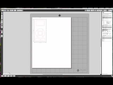 How to make your own Cameo Control Panel Template