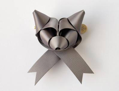 Incredible ribbon creationsRibbons Sculpture, Ideas, Ribbons Animal, Crafty, Art, Foxes Bows, Ribbons Foxes, Baku Maeda, Crafts