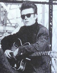 """Stuart Sutcliffe  was a Scottish-born artist and musician; best known as the original bass player of The Beatles. Sutcliffe left the band to continue his career as an artist, having previously attended the Liverpool College of Art. Sutcliffe and John Lennon are credited with inventing the name of """"The Beatles"""""""
