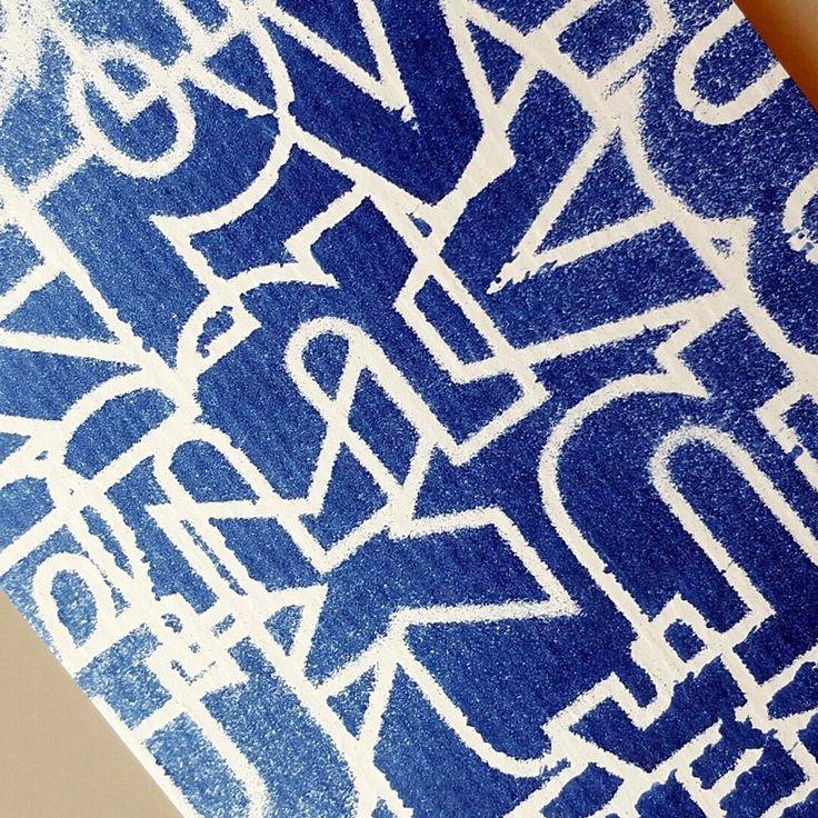 NőiCsizma | Betűdzsungel stencil A5.