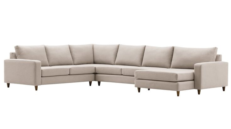Home :: Furniture :: Lounges :: Modular Lounges :: Baxter Modular Sofa With Chaise