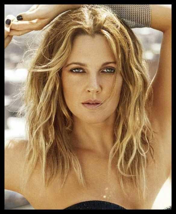 Drew Barrymore  hair