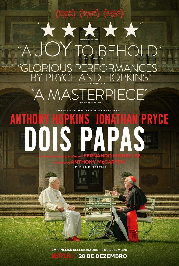 Assista Ao Trailer De Dois Papas Com Jonathan Pryce E Anthony
