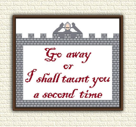 Cross Stitch Pattern pdf  Monty Python and the Holy by Kentima