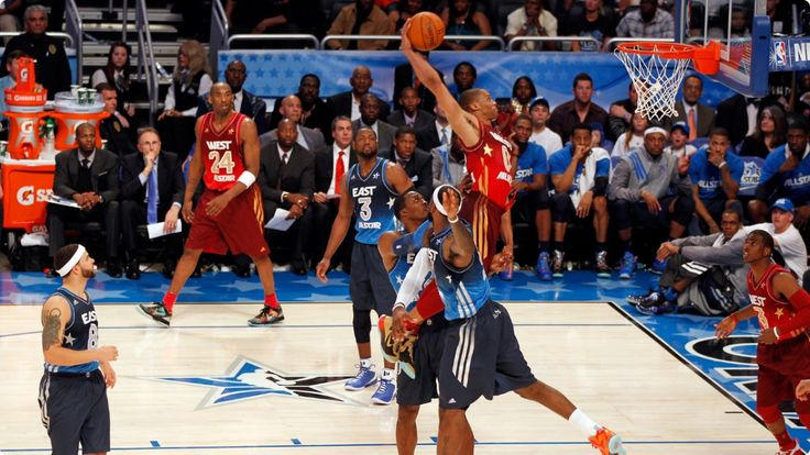 Power dunk di Russell Westbrook. All Star Game 2014