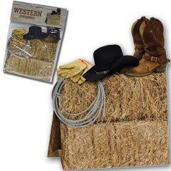 """Western Centerpiece by Cool Novelty Products. $2.50. Decorate your western style table with our 9 1/2"""" x 8"""" Western centerpiece. The cowboys and cowgirls are ready for chow and your table looks great with our Western centerpiece in the middle. Western centerpiece is sold by the piece. Please order in increments of 1 piece."""