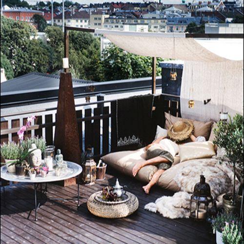 Women at Home — (via Outdoor space | X-PO Design | PATIOS/OUTDOOR...