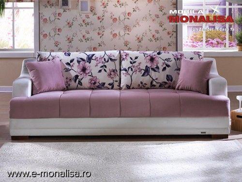 Canapele Extensibile de Calitate - Sidney  Seria de canapele si fotolii prezentata este compusa din canapea extensibila 3 locuri, canapea…
