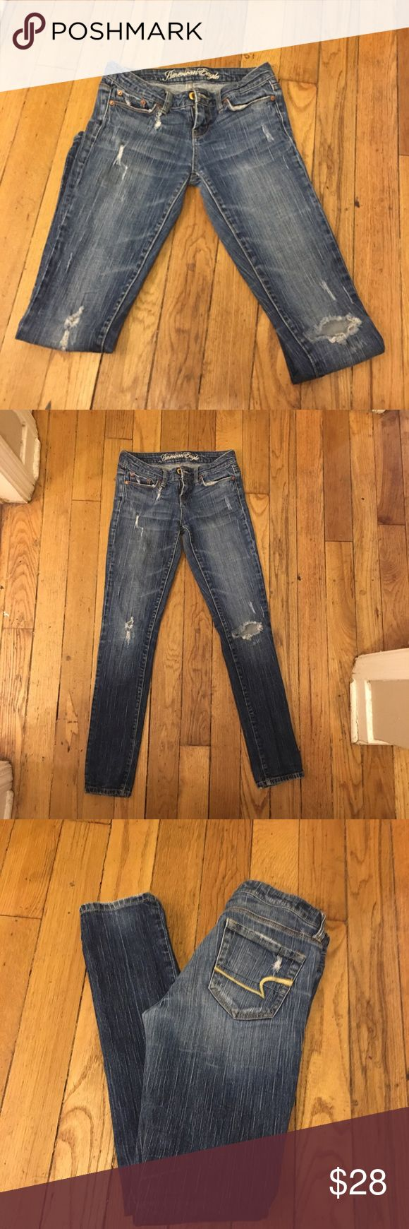 ‼️ AMERICAN EAGLE WOMENS JEAN ‼️ AMERICAN EAGLE women's jeans ‼️ Size 2 ‼️ Skinny cut ‼️ In great condition ‼️ American Eagle Outfitters Jeans