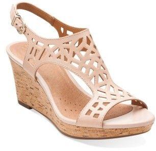 Women's Clarks 'Palmdale Sands' Wedge Sandal
