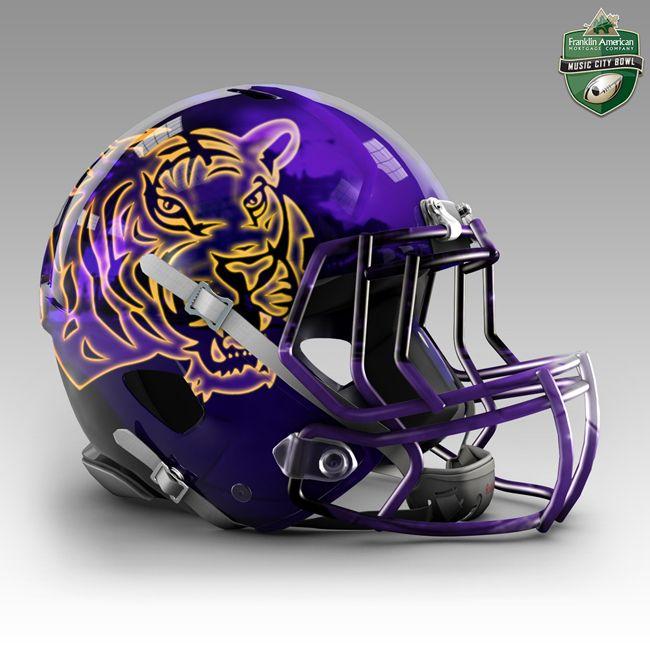 LSU football helmet - Google Search