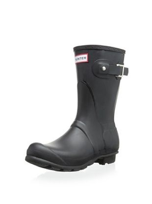 35% OFF Hunter Women's Original Short Rainboot (Black)