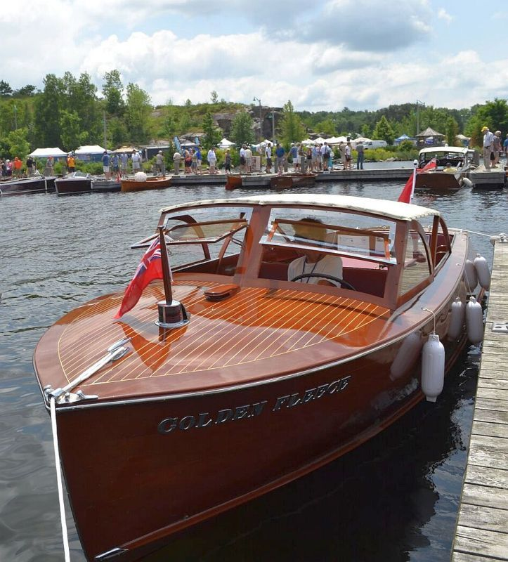 Classic Antique Wooden Boats For Sale | Pb752 | Port Carling Boats – Antique & Classic Wooden Boats for Sale