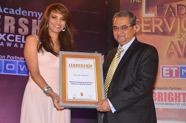 The Lalit Mumabai - Western India Leadership & Service Excellence Awards, June-2013
