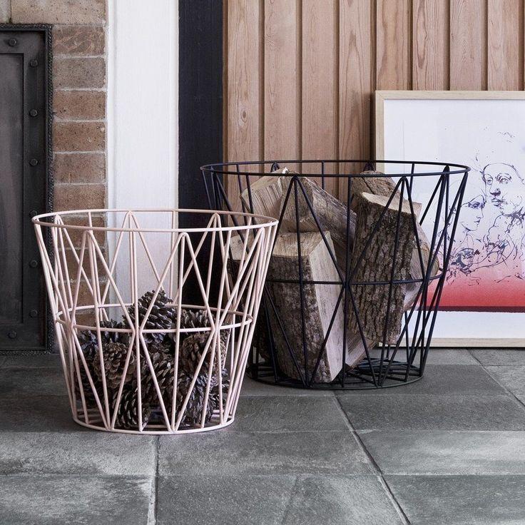 14 Best Log Basket Images On Pinterest Basket Journals