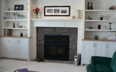 Shelves By Fireplace Fireplaces With Bookshelves On Each Side | Shelves  Fireplace