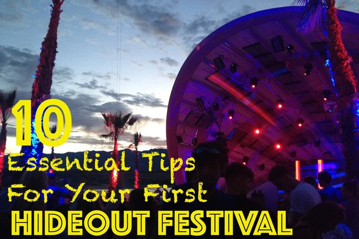 Are you heading to Hideout Festival this year? Lucky You! You are going to have the time of your life!  Hideout was completely different to anything I'd ever experienced before, so I have written my top 10 Essential Tips for #Hideout.  Now on my blog!