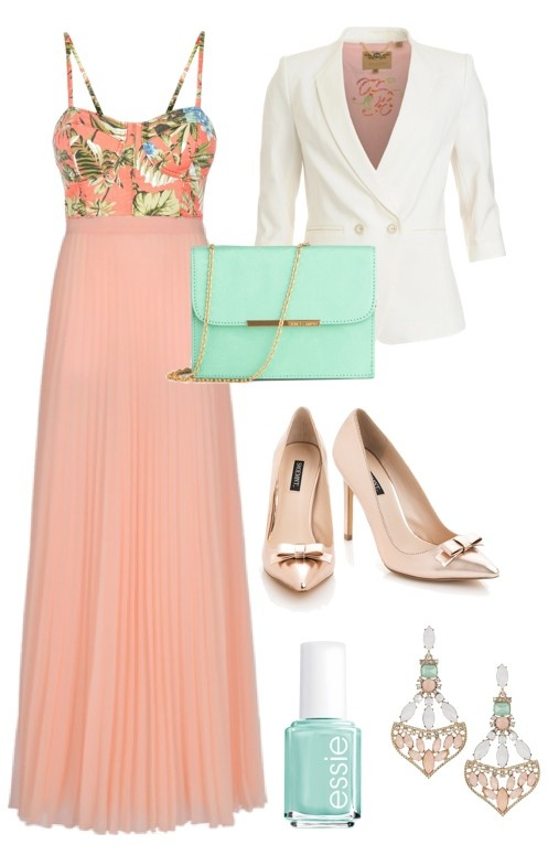 Peach + Mint