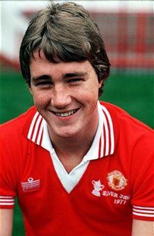 Dave Bradley Manchester United 1977