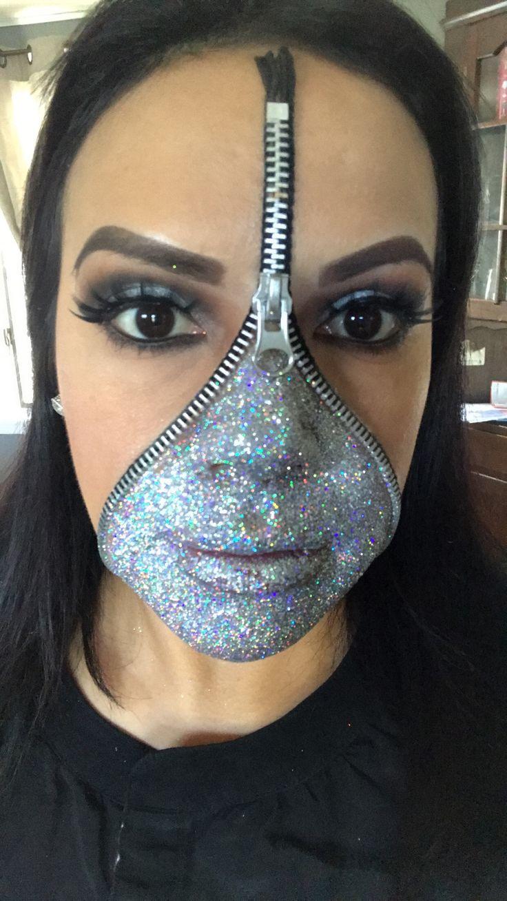 Best 25+ Zipper Face Costume Ideas On Pinterest
