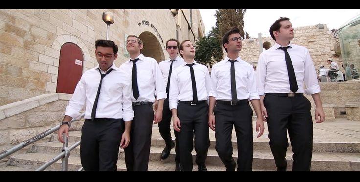 The Maccabeats - Home (Medley) - Israel - love the way they combine so many songs, beautiful medley!