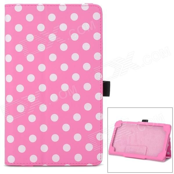 Brand: N/A; Quantity: 1 Piece; Color: Pink + white; Material: PU leather; Style: Leather Cases; Type: For Tablets; Compatible Model: Google Nexus 7 II; Other Features: Protects your device from scratches, dust and shock; Packing List: 1 x Protective case; http://j.mp/1toCgUi
