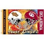Ncaa 3 ft. x 5 ft. Rivalry House Divided Flag - Oklahoma/Oklahoma State