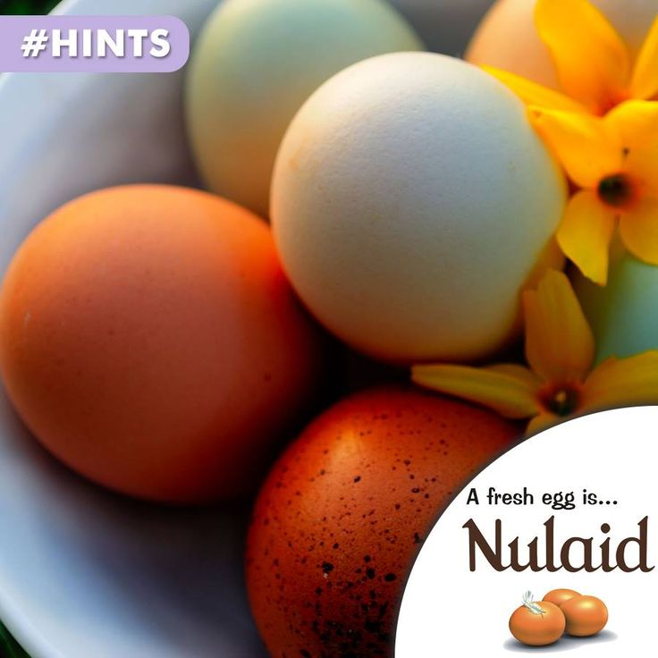 When buying eggs, get them home and refrigerate them as soon as possible with their sharp points downwards. To reach room temperature they should be removed from the fridge about 20 minutes before use or placed in warm water for ten minutes. #hints #safety #nulaid