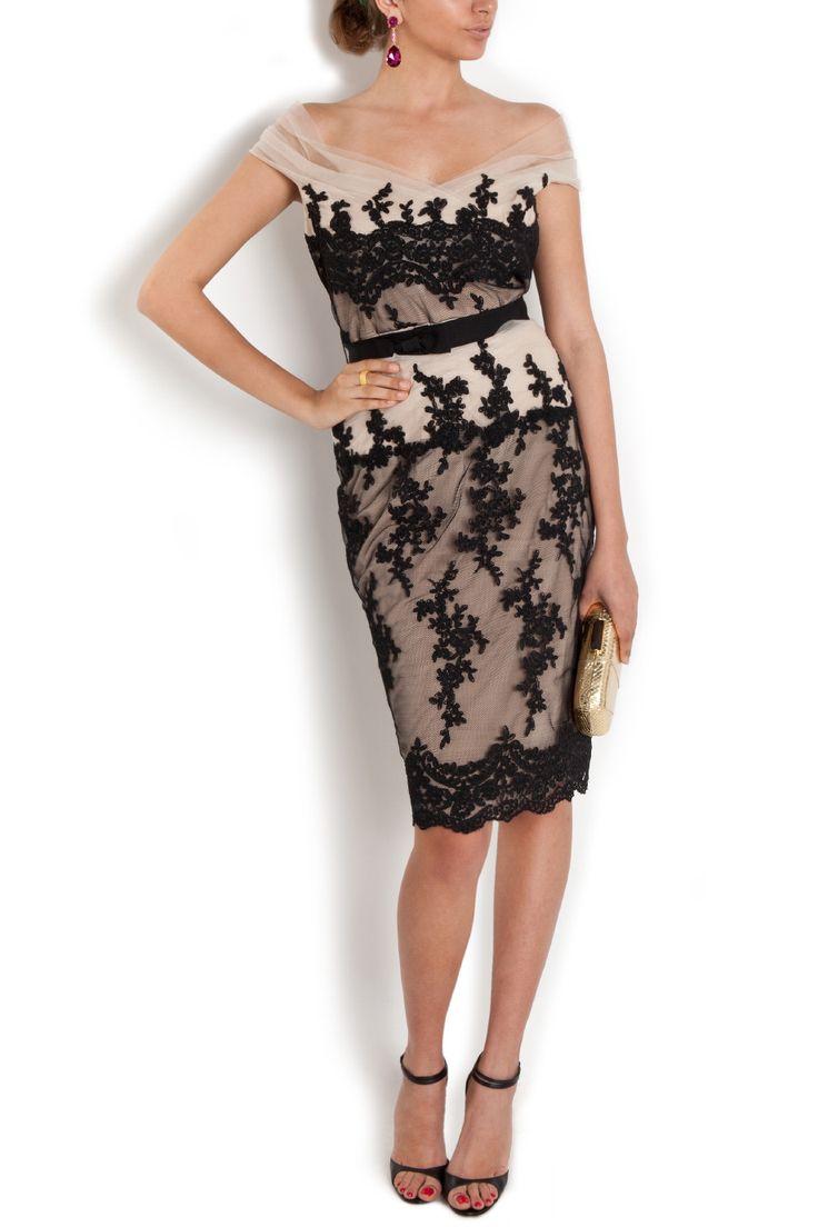 Mirabella Lace Cocktail Dress