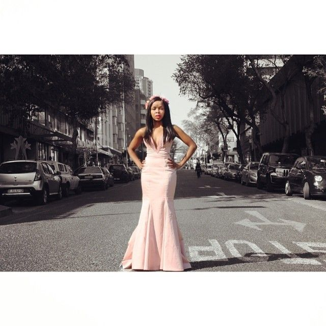 Vintage style photography pink prom dress swarovski crystals