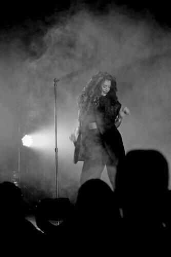 Lorde...I would luv to see her in concert